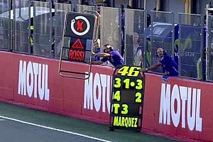 Rossi in scia a Lorenzo: riecco la tabella con il triciclo