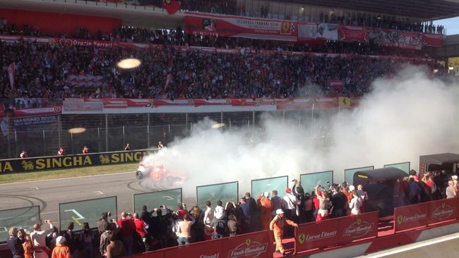 Che Ferrari Show alle Finali Mondiali del Mugello!