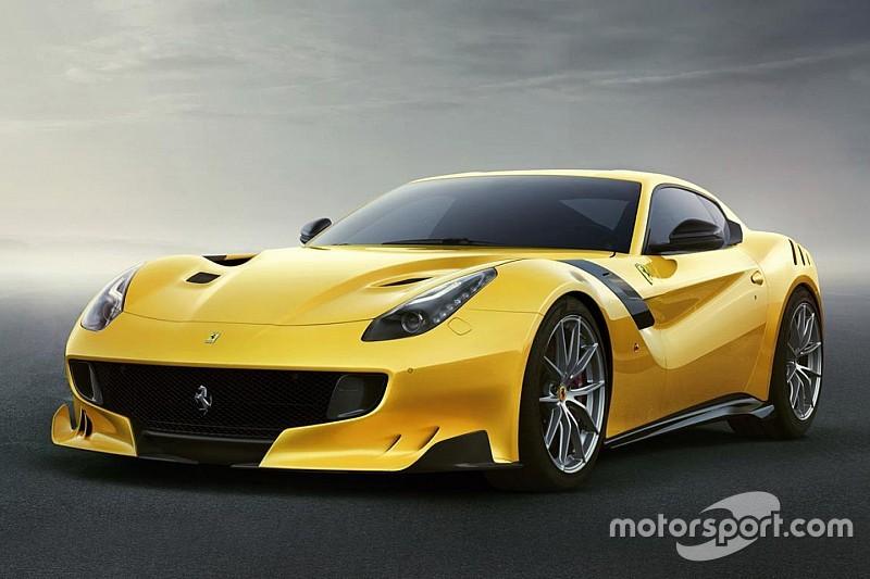 法拉利在穆杰罗发布限量版F12tdf