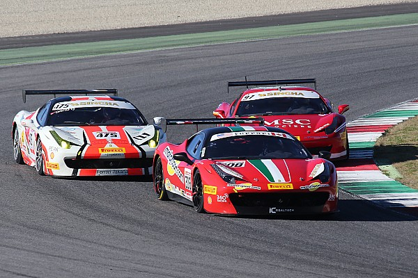 Ferrari Challenge North America champions crowned at Mugello