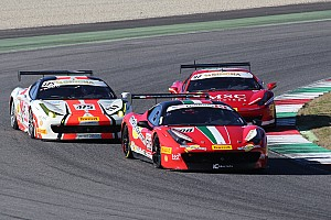 Ferrari Race report Ferrari Challenge North America champions crowned at Mugello