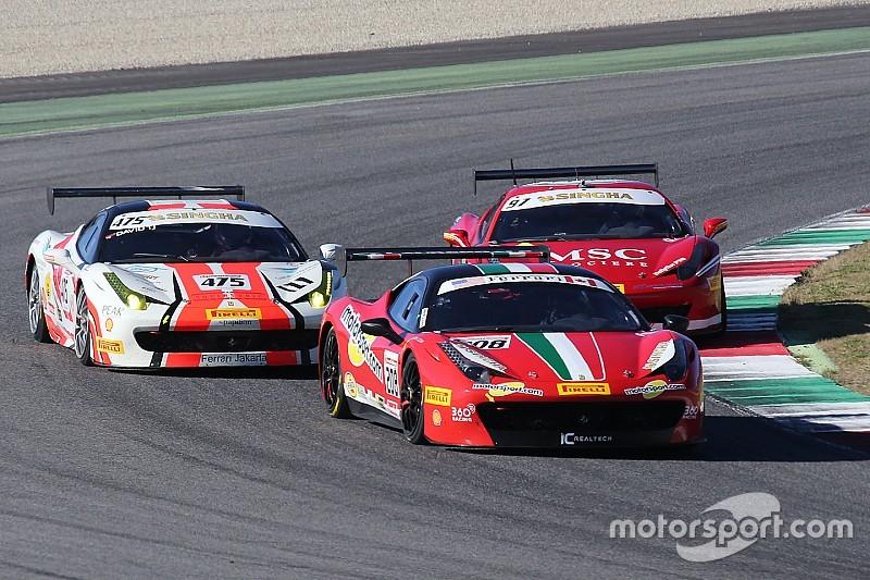 Ferrari Challenge North America champions crowned at Mugello