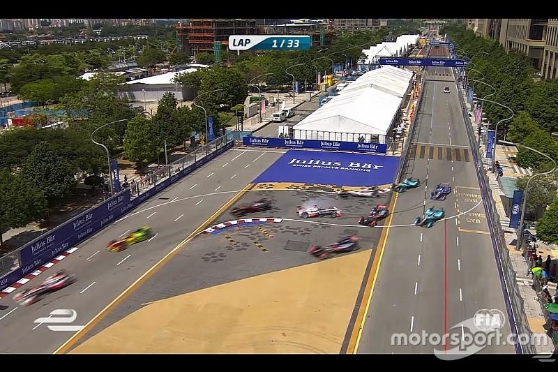 Video, tutti i ritiri e gli incidenti del Putrajaya ePrix