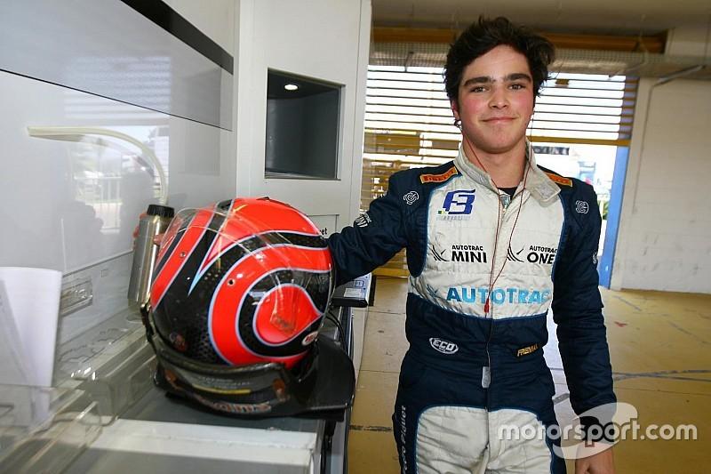 Pedro Piquet estreia na F3 Europeia pela Van Amersfoort