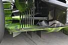 McLaren: ci sono modifiche al diffusore posteriore