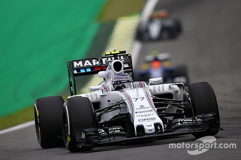 Bottas sanctionné sur la grille d'Interlagos