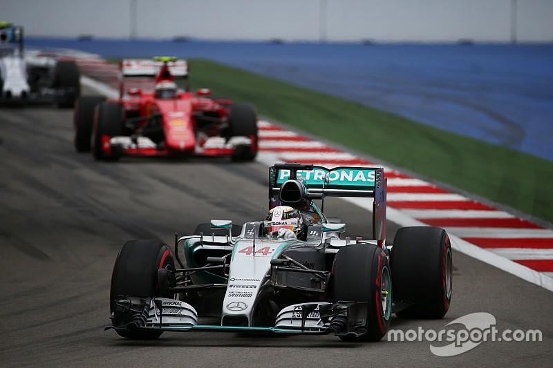 Боттас: Ferrari ещё не догнала Mercedes