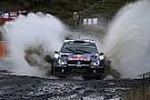 Wales WRC: Ogier stretches lead over Meeke in the rain