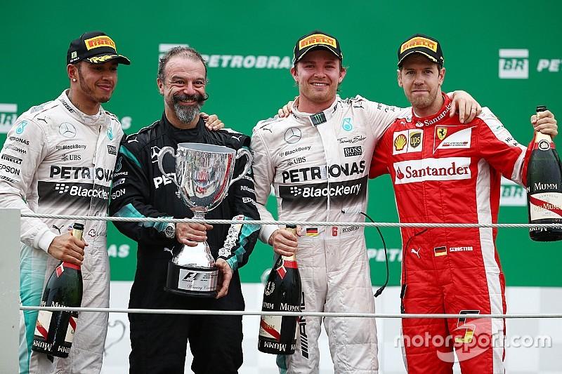 "Rosberg vence GP do Brasil e ""adia"" sonho de Hamilton"