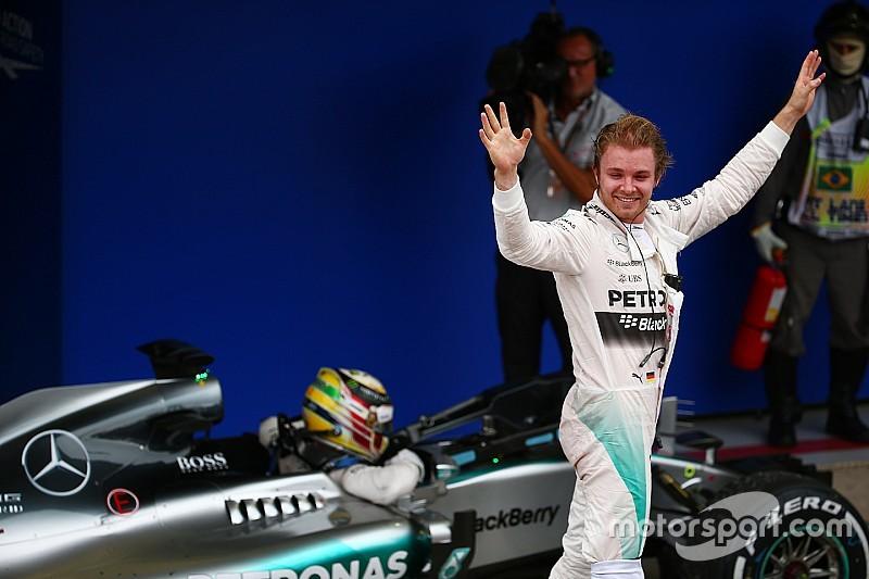 """Rosberg: """"Fui capaz de controlar a Lewis"""""""