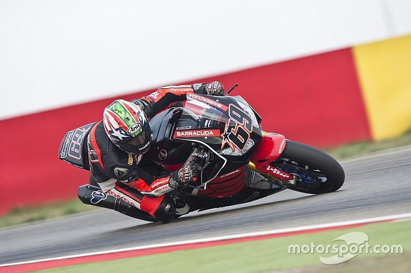 Hayden completa en Aragón su primera prueba en Superbike
