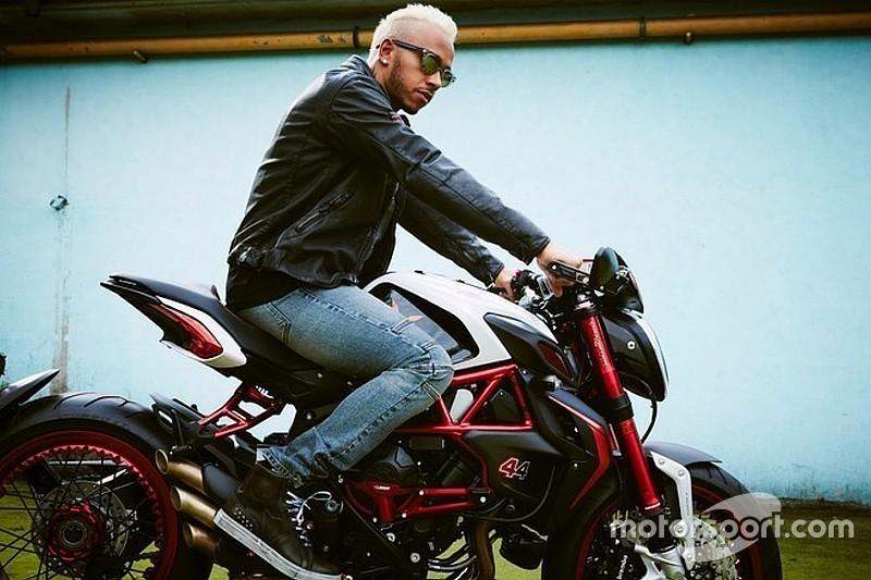 Hamilton ajuda a desenhar moto exclusiva da Agusta
