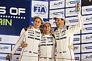 Bahrain WEC: Webber crowned world champion as Porsche prevails