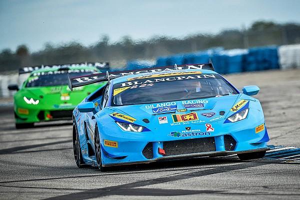 Ebrahim finishes second in Lamborghini Asia championship
