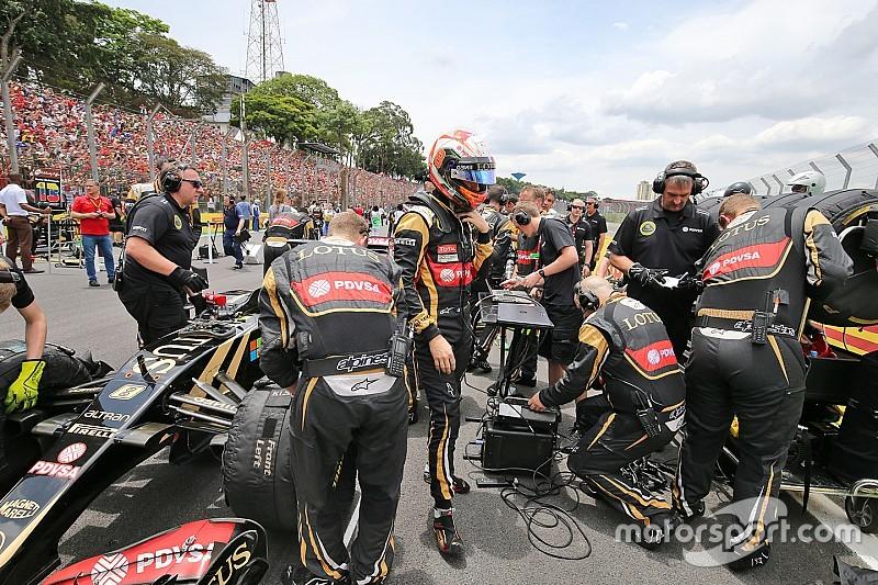 """Grosjean: Lotus """"não merece calvário"""""""