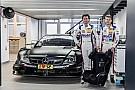 Test con la Mercedes DTM per i figli di Ludwig ed Asch