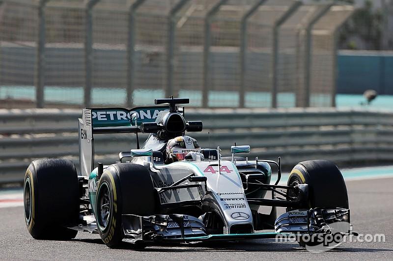 """Hamilton n'a """"pas tiré le meilleur des pneus"""""""