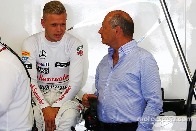 """McLaren: Magnussen """"no rindió como debía"""""""