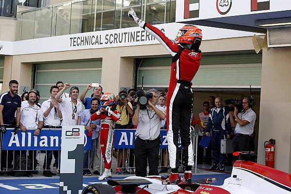 Ocon  se coronó campeón de la GP3