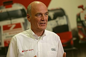 WEC Interview A word from the Head of Audi Motorsport Dr. Wolfgang Ullrich