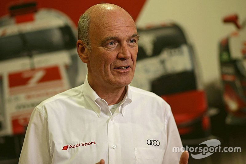 A word from the Head of Audi Motorsport Dr. Wolfgang Ullrich