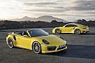 Porsche dévoile les nouvelles 911 Turbo et Turbo S