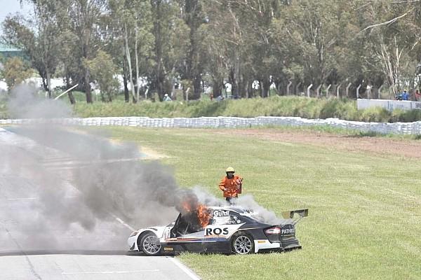 Schwerer Feuerunfall bei argentinischen Tourenwagen