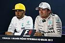 Wolff avertit de nouveau Hamilton et Rosberg