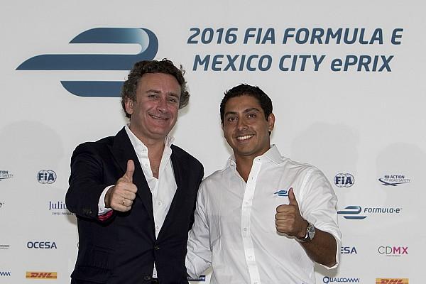 Salvador Durán regresará a la Fórmula E