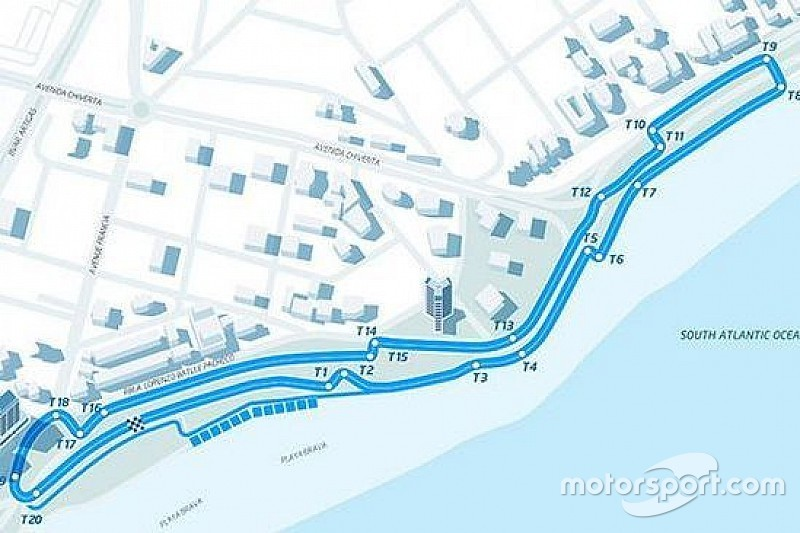 埃斯特雷角:沙滩边,难超车的高速赛道