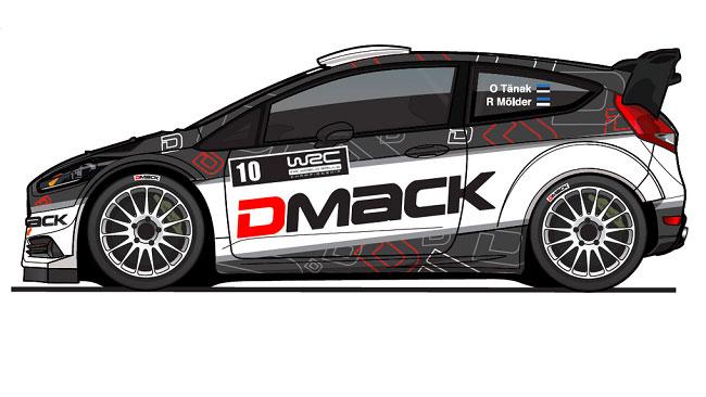 La nuova livrea 2016 della Fiesta RS di Ott Tanak?