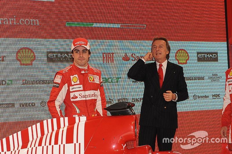 Montezemolo defiende la devoción de Alonso por Ferrari