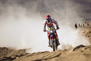 Dakar Interview Coma's absence makes winning Dakar no easier, says Barreda