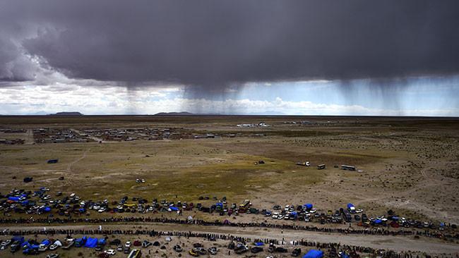 Dakar, Tappa 1: partenza ritardata causa maltempo