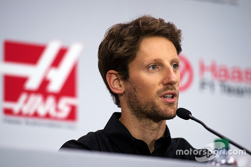 Haas no es ningún escalón para llegar a Ferrari, dice Grosjean
