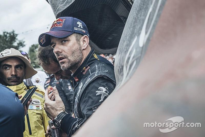 Loeb fue derrotado, pero conserva el liderato general en Dakar