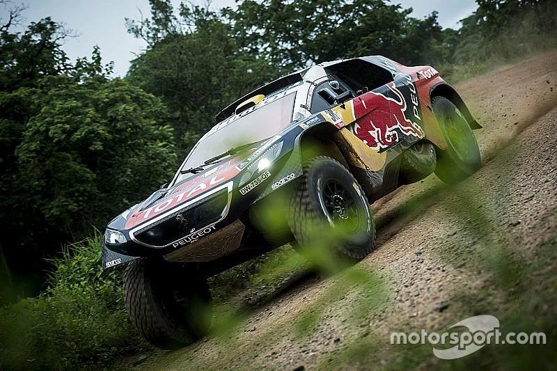 Dakar, Auto, Tappa 6: Peterhansel passa a condurre!