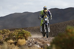 Dakar Stage report Sherco TVS duo in top 10 at the end of stage seven