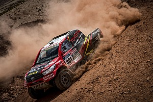 Dakar Stage report Overdrive Racing and Toyota Gazoo Racing reach Salta with four Toyota Hiluxes inside Dakar Top 10