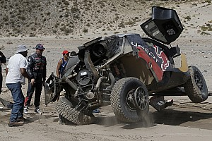 Dakar Breaking news Loeb: Victory bid over after
