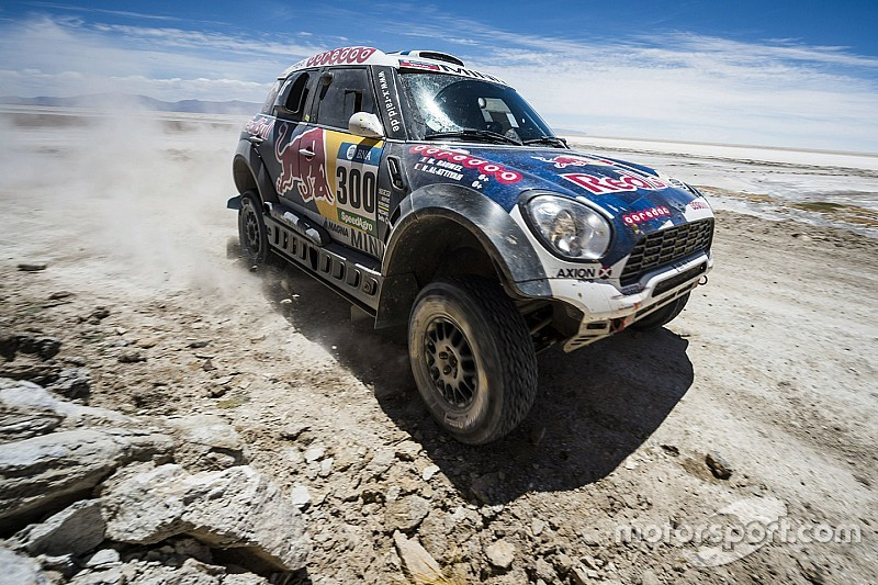 Al-Attiyah back in the Dakar game