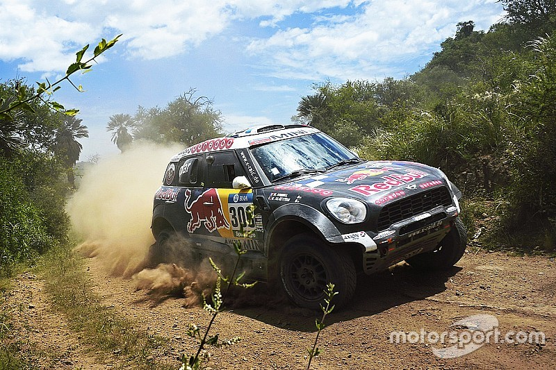 Nasser seals runner-up spot on his 12th Dakar Rally