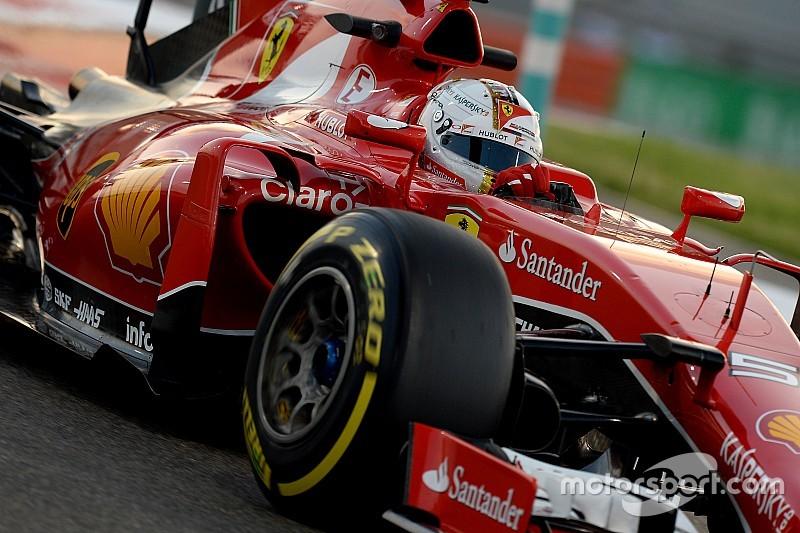 Sebastian Vettel testet auf der Ferrari-Hausstrecke Fiorano