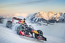 Red Bull será multado por pista en la nieve