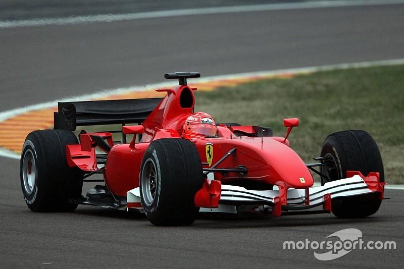 Vor 10 Jahren: Michael Schumacher testet Ferrari ohne Aufkleber