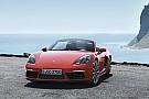 Porsche 718 Boxster ook met nieuwe viercilinder razendsnel