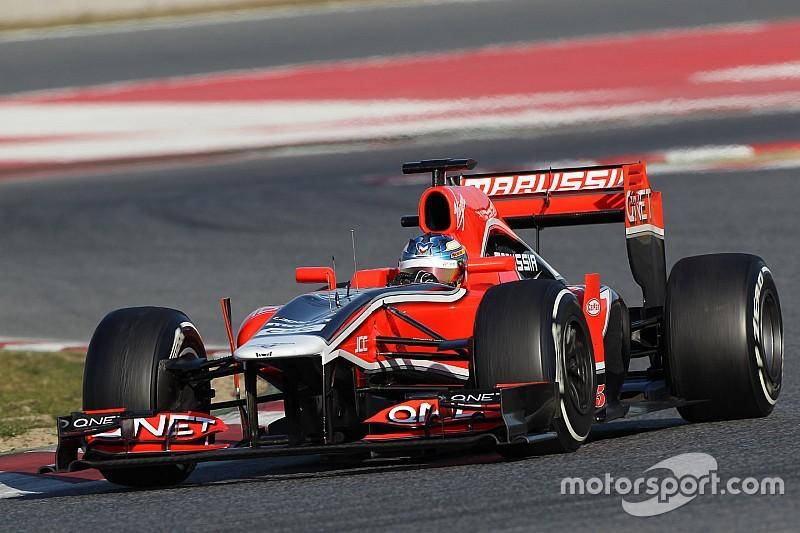 Четыре машины команды Marussia выставлены на продажу