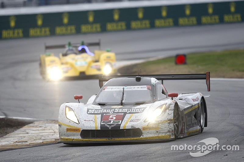 Daytona update: Pech voor Action Express Corvette
