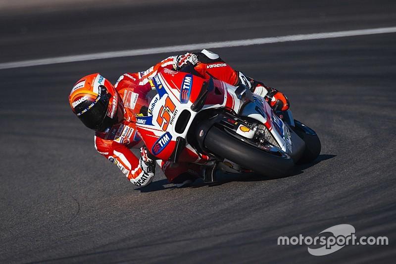 Michele Pirro sigue con el desarrollo de  Ducati en Sepang