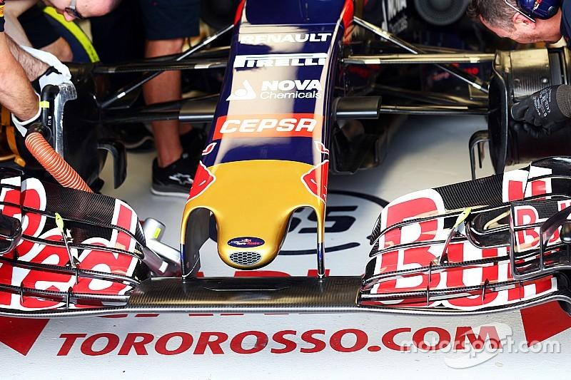 Novo carro da Toro Rosso passa em teste e é homologado